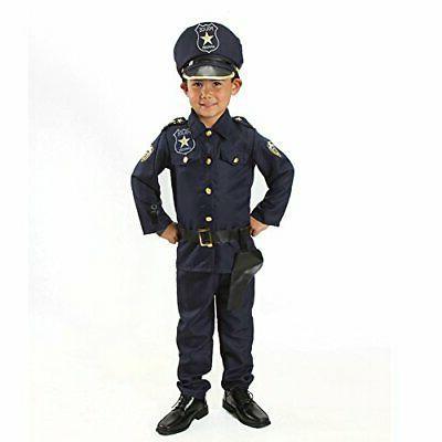 MONIKA FASHION WORLD Police Officer Costume Kids Badge on