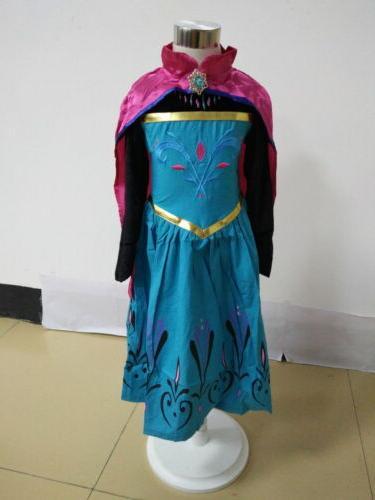 Halloween Cartoon Dress Cape