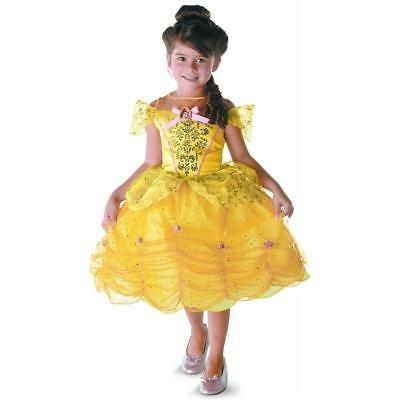 princess belle girl child dress costume beauty