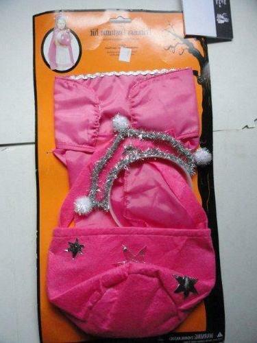 princess costume kit pink white girls kids