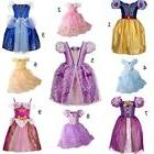 Princess Dress Kids Girls Party Halloween Costume Sizes 2-9T