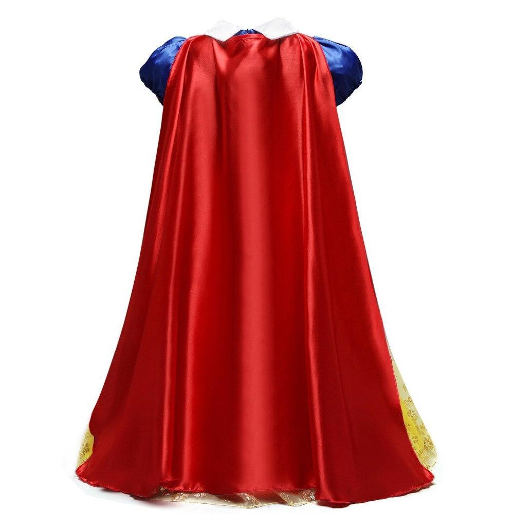 YOFEEL <font><b>Dress</b></font> <font><b>up</b></font> <font><b>Costume</b></font> Girls Puff Sleeve <font><b>Costumes</b></font> with Cloak Child Party Gown