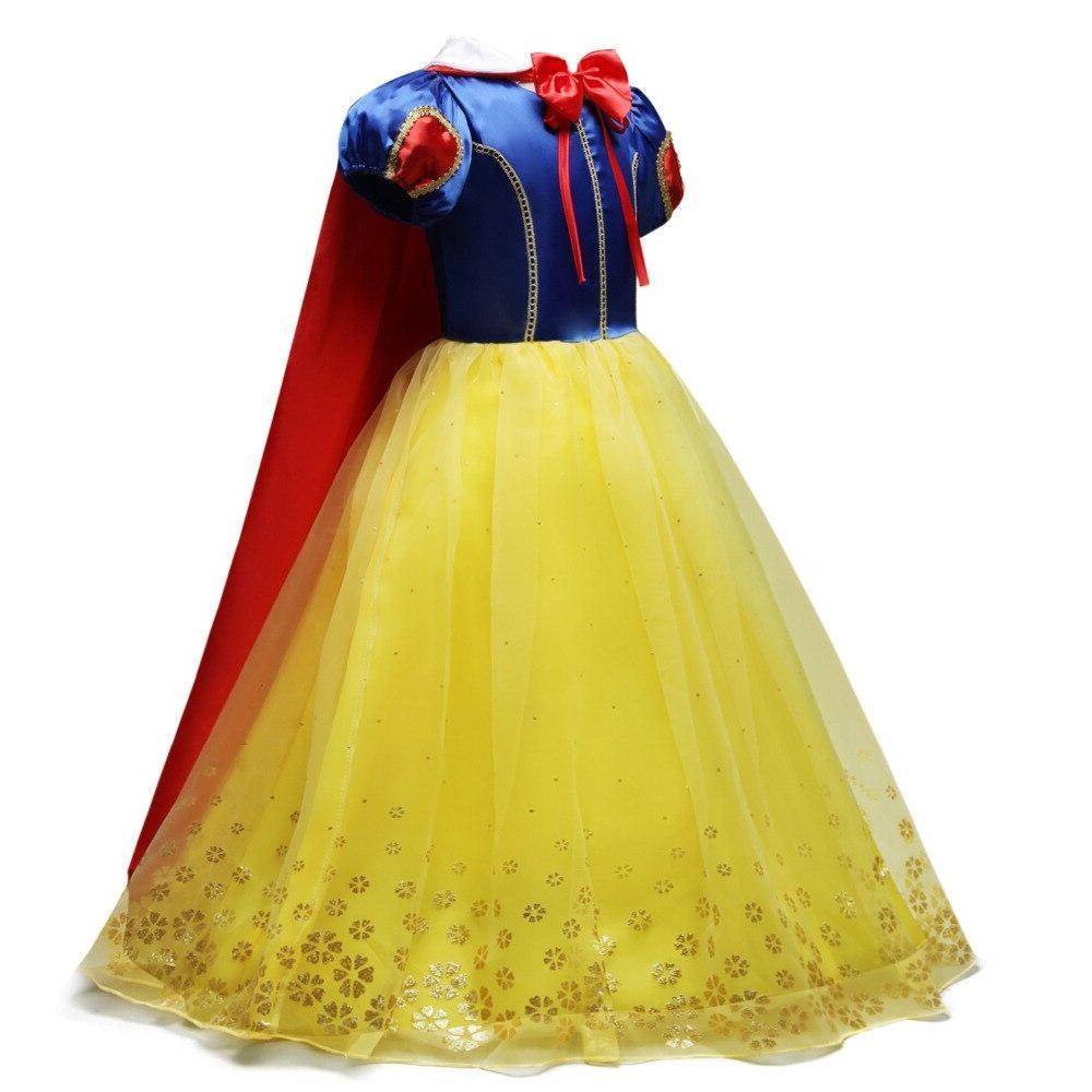 YOFEEL <font><b>Dress</b></font> <font><b>up</b></font> Girls <font><b>Kids</b></font> Puff <font><b>Costumes</b></font> Cloak Child Party Gown