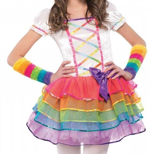 Rainbow Unicorn Costume Kids Halloween
