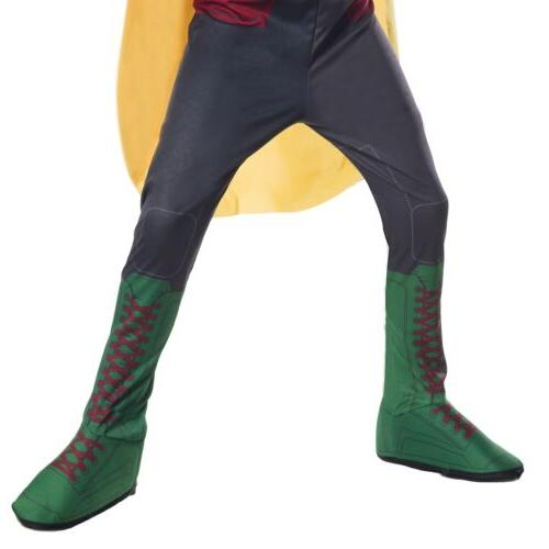 Robin Costume Kids Superhero Halloween Fancy