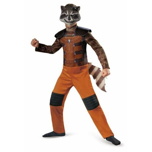 rocket raccoon costume kids guardians of