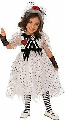 Rubie's Costume Child's Ghost Girl Costume, X-Small, Multico