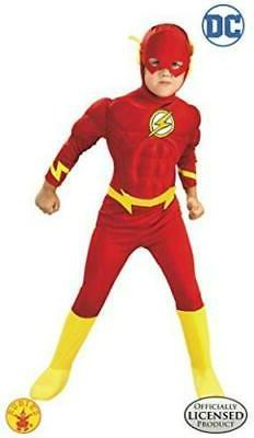 Rubie's DC Comics Deluxe Muscle Chest The Flash Child's, Mul