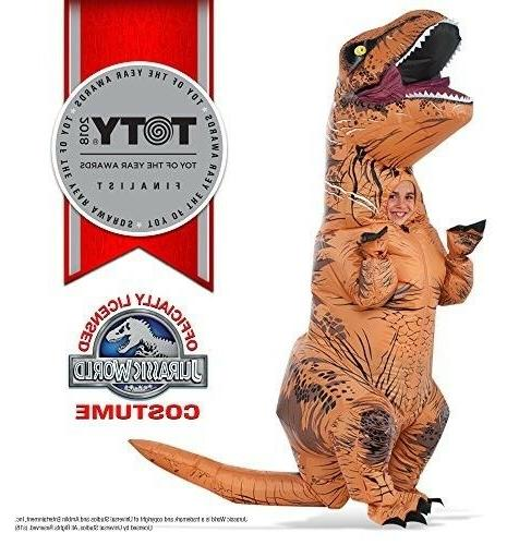 rubies jurassic world t rex inflatable halloween