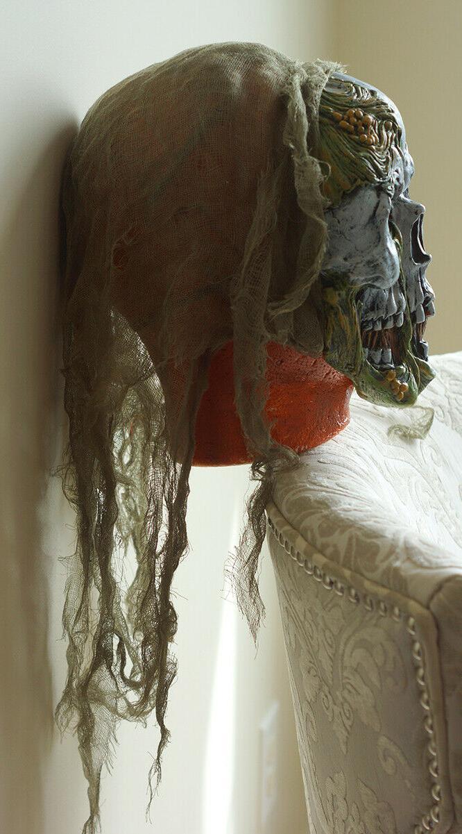 SKELETON UnDead ZOMBIE Costume Mask + Pants