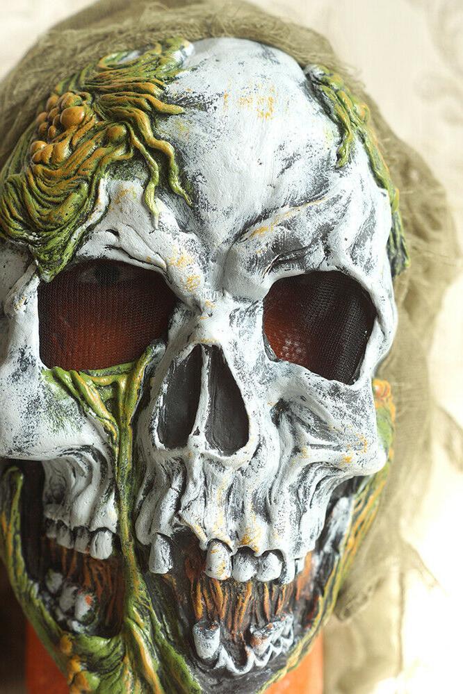 SKELETON ZOMBIE Costume Child's Mask + Top Pants
