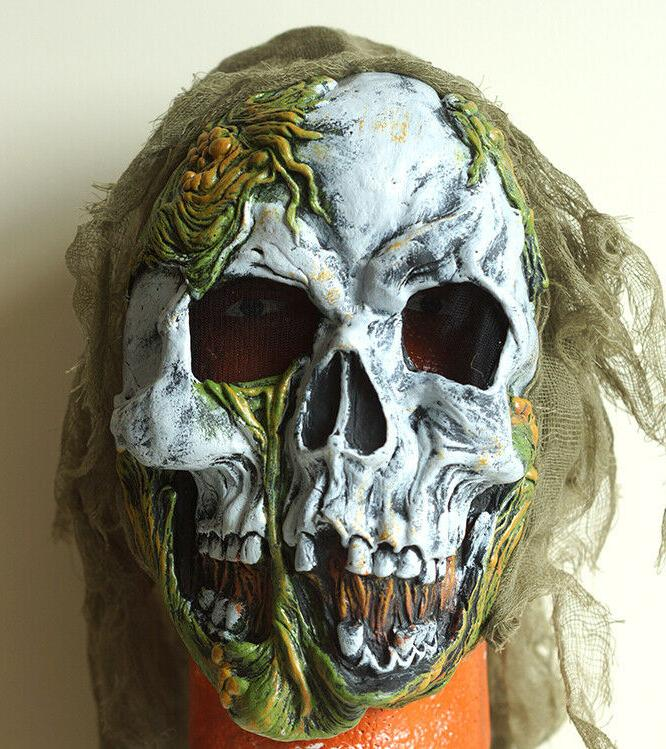 SKELETON Costume Mask + Top + Pants