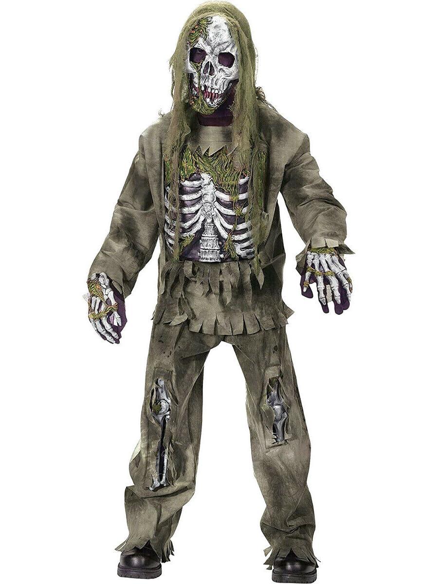 skeleton undead zombie halloween costume child s