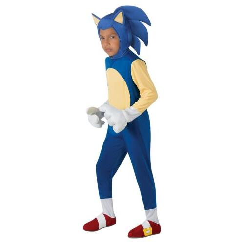 Sonic Costume Kids Sonic The Hedgehog Halloween Fancy