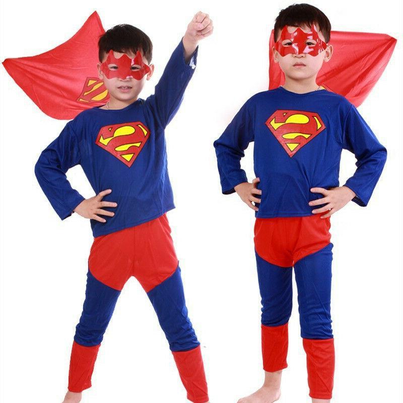 Spideman Costume Fancy Halloween For Kids Boys