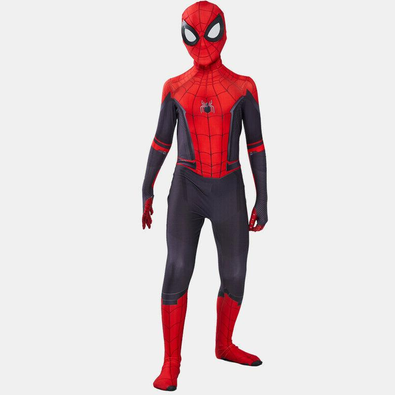 Spider Man Home Costume Suit for Boys Kids