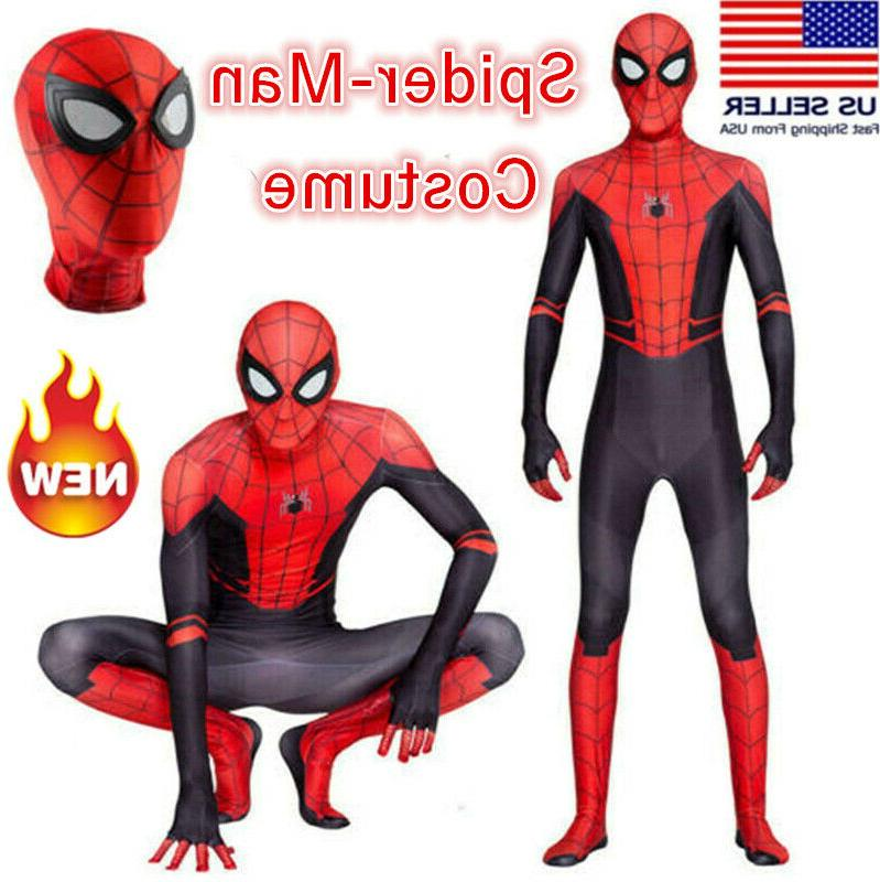 spider man far from home jumpsuits zentai