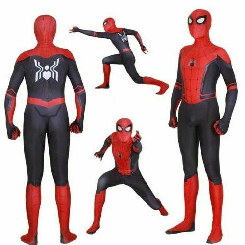 Spider Man Far Home Peter Parker Cosplay &