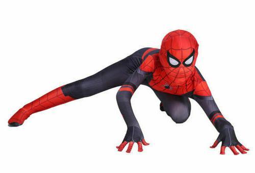 Spider Home Peter Cosplay Men &