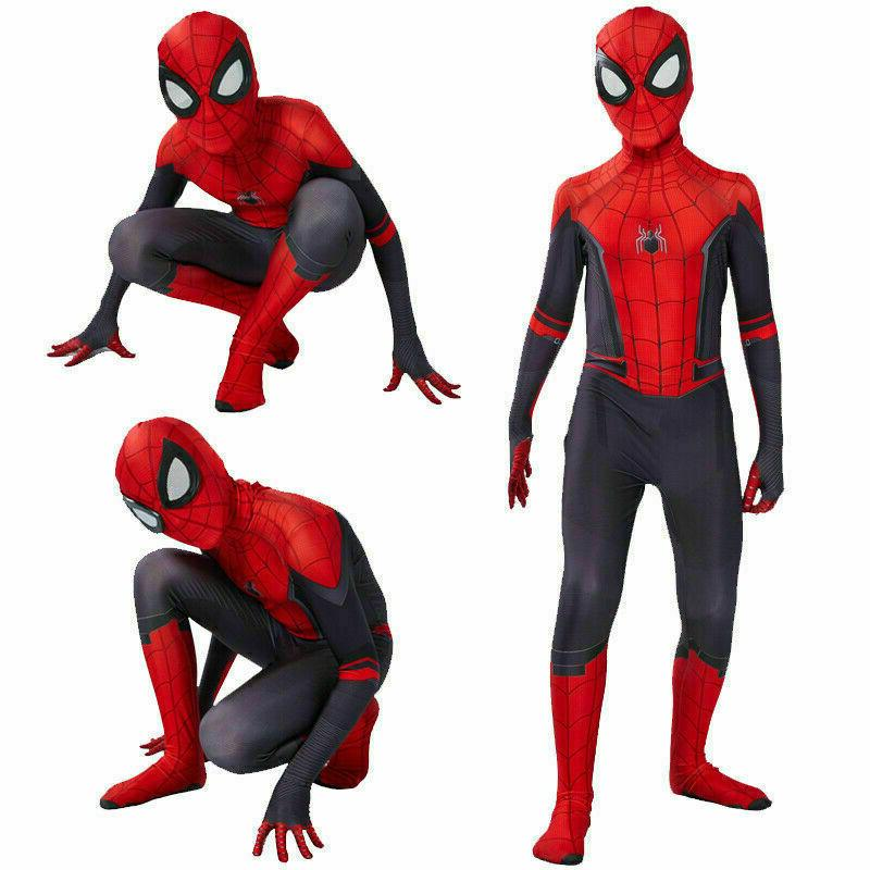 Spider Far Home Peter Cosplay for Men &
