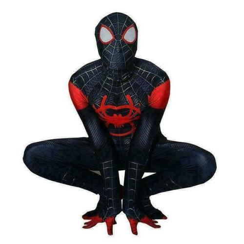 Spider-Man: Into Miles Morales Cosplay Suit Kids