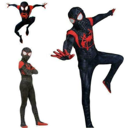 Spider-Man: Into the Miles Morales Costume Suit Kids