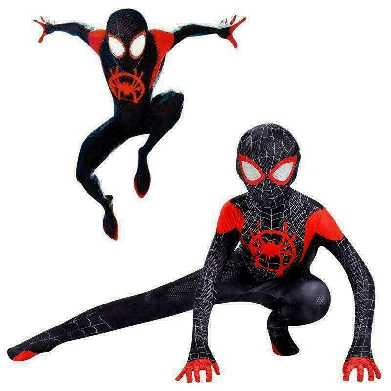 Spider-Man: the Spider-Verse Kids Cosplay Suit