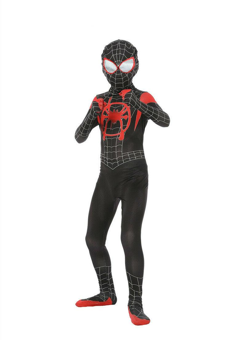 Spider-Man: Into Kids Costume Morales Cosplay Suit