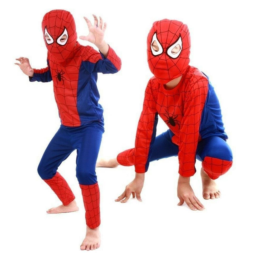 Spiderman Superhero Fancy For Kids