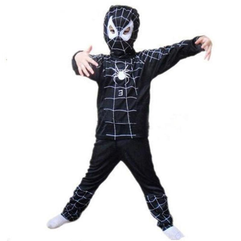 Toddler Spiderman Costume Cosplay Fancy Dress