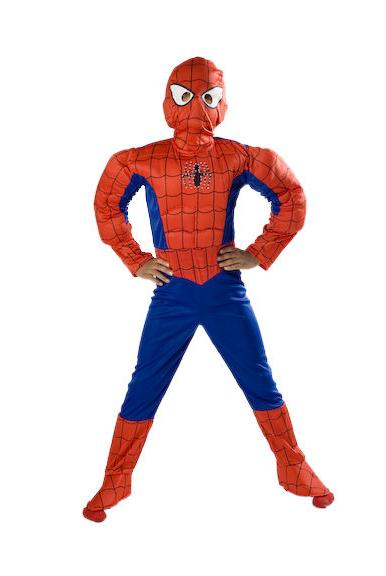 Spiderman up Costume Halloween Small 6 8