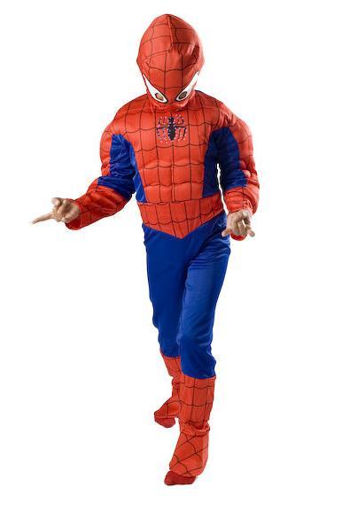 Spiderman Costume kids Halloween Small 4 6 7 9