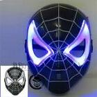 Spiderman Superhero LED Light Up Kids Children Mask Hallowee
