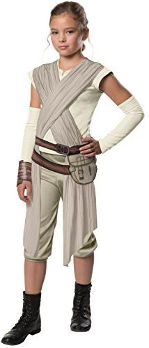 Star Wars: The Force Awakens Child's Deluxe Rey Costume, Med