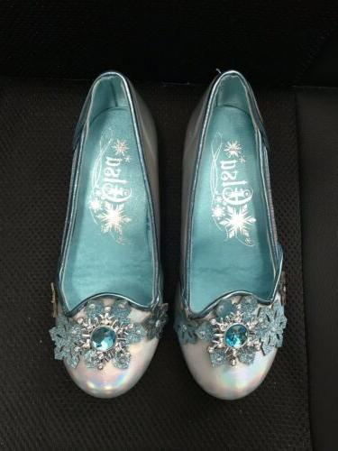 Disney Kids Costume Shoes Frozen Girls