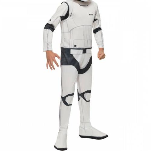 Stormtooper Costume Kids Star Wars First Order Fancy Dress