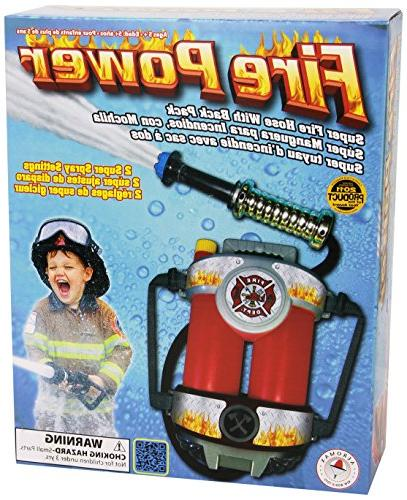 Super Hose Toy with Back