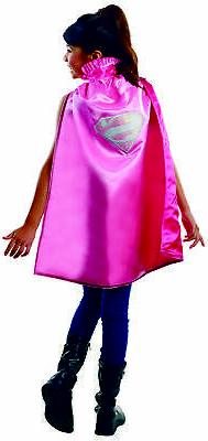 Girls Supergirl Deluxe Costume Cape - Superman Costumes