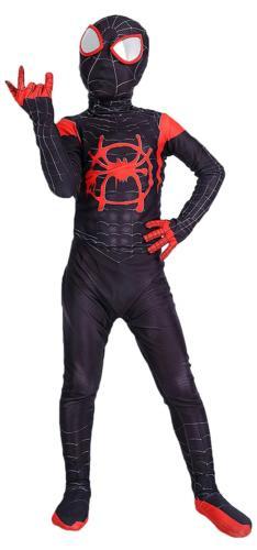 Riekinc Superhero Zentai Bodysuit Halloween Kids Cosplay Cos