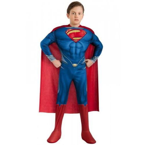 Superman Kids Superhero Halloween Dress
