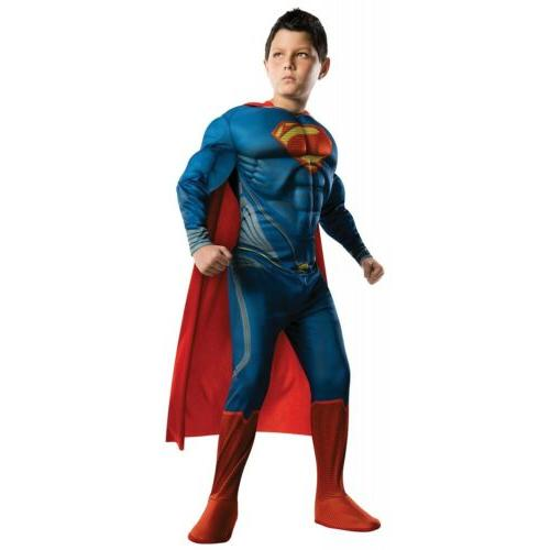 superman costume kids superhero halloween fancy dress