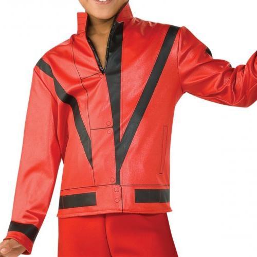 Thriller Jacket Kids Michael Jackson Costume Halloween Dress