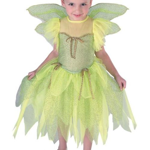 Tinkerbell Costume Kids Halloween Dress