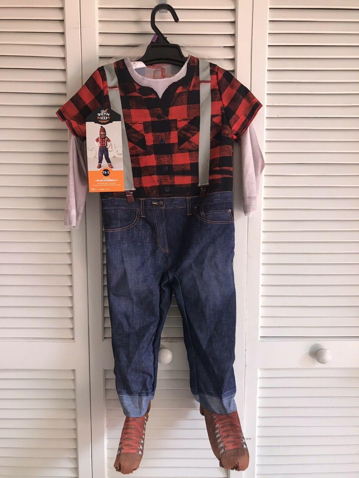Toddler LUMBERJACK Jumpsuit Costume Kids and eek!