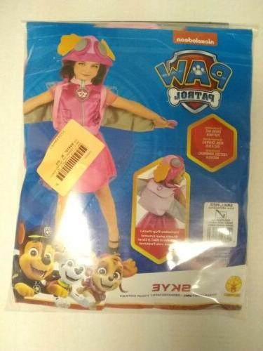 Toddler Paw Patrol Skye Costume Size Small 4-6