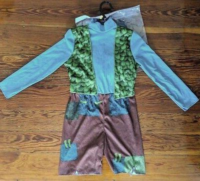 Dreamworks Trolls Branch Halloween Costume child kids boy si