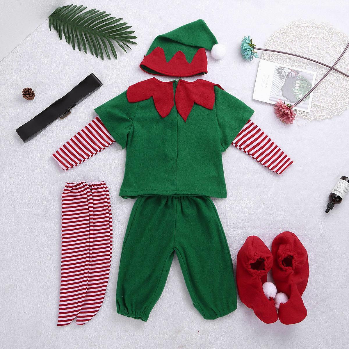 Unisex Adult Christmas Elf Dress Santa's Helper