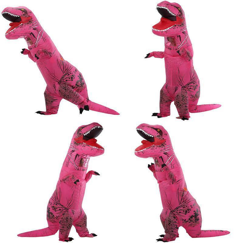 unisex jurassic t rex inflatable child costume