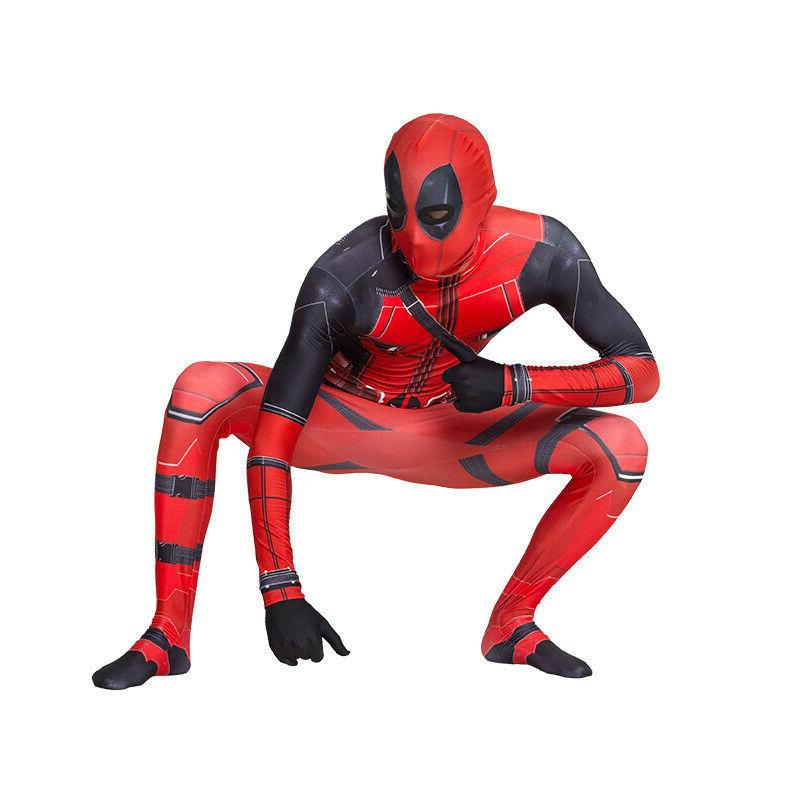 US Deadpool Jumpsuits Boys Bodysuits