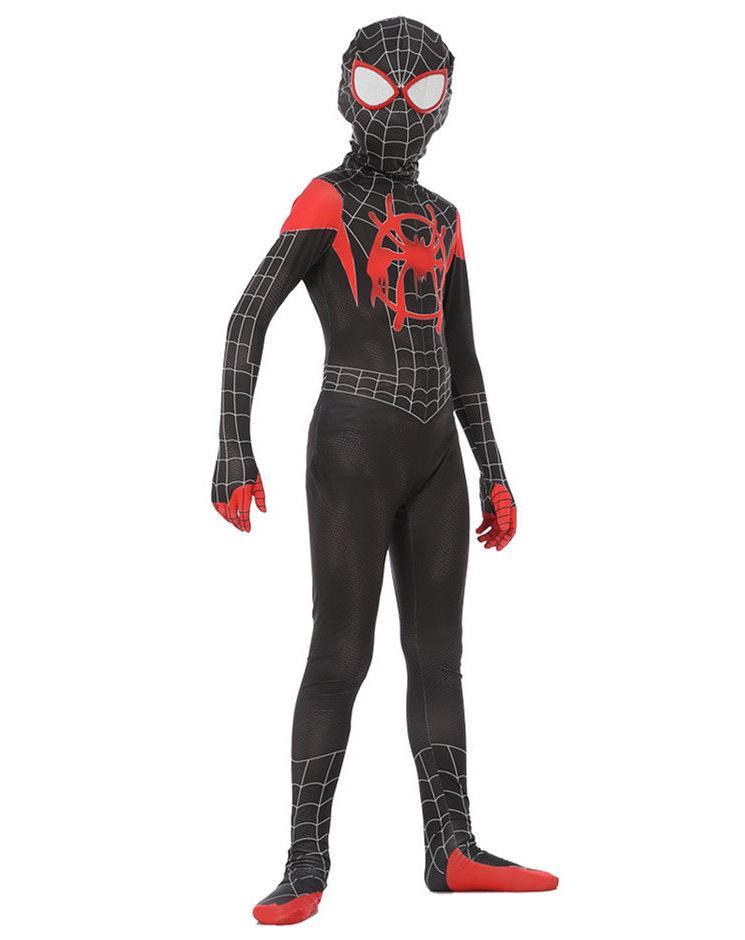 US! Spider-Verse Miles Morales Cosplay Costume